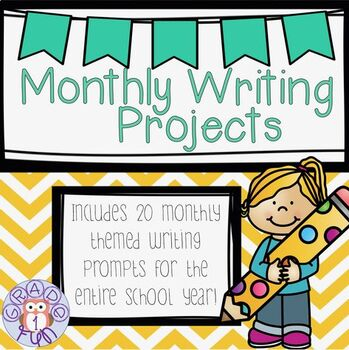 Monthly Themed Writing Projects