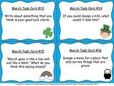 Monthly Themed Writing Task Cards- March