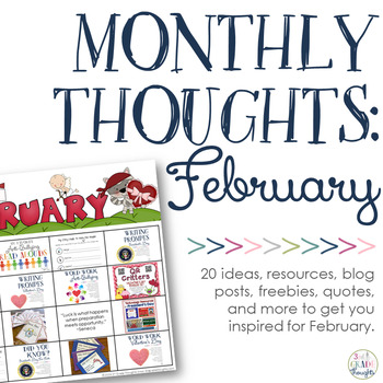 Monthly Thoughts: February