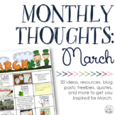 Monthly Thoughts: March