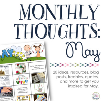 Monthly Thoughts: May