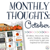 Monthly Thoughts: October