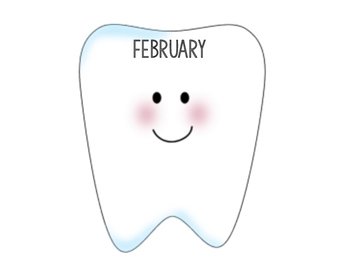 Monthly Tooth Chart