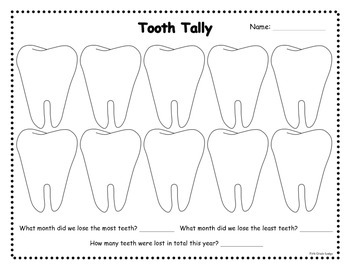 Monthly Tooth Tally