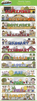 Monthly Toppers January through December
