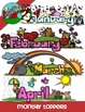 Monthly Toppers / Calendar Headers