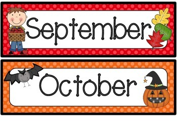 Monthly Toppers-Polka Dots