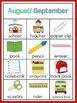 Monthly Vocabulary