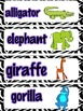 Monthly Vocabulary Cards: 12 Themes