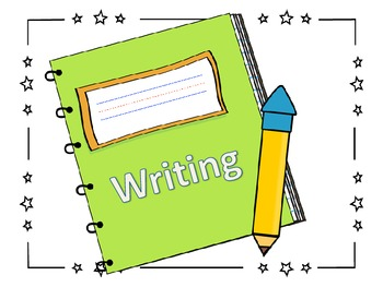 Monthly WRITING Templates for Expressive Writing
