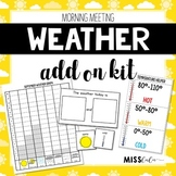 Morning Meeting Weather Add On Kit