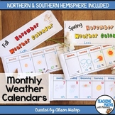Monthly Weather Calendar Books