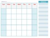 Monthly Weekly Freebie