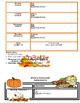 Monthly/Weekly Homework Format EDITABLE