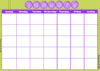 Monthly/ Weekly Planner Editable Template – Free