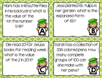 Monthly Word Problems- March