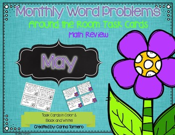 Monthly Word Problems- May
