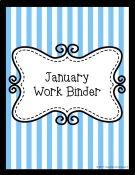 Monthly Work Binder Covers - Patterns