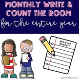 Monthly Write & Count the Room-Growing BUNDLE!!