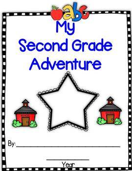 Monthly Writing Book:  My Second Grade Adventure