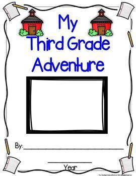Monthly Writing Book:  My Third Grade Adventure