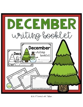 Monthly Writing Booklet Growing Bundle