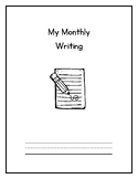 Monthly Writing Booklet - ONTARIO