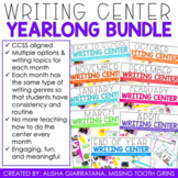 Monthly Writing Center Bundle