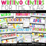 Monthly Writing Center Growing Bundle