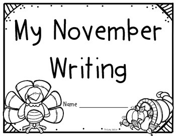 Monthly Writing Covers