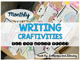Monthly Writing Craftivities