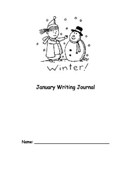 January Monthly Writing Journal