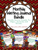 Monthly Writing Journal Bundle:August,September,October