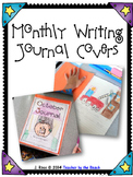Monthly Writing Journal Cover Pages