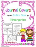 Monthly Writing Journal Covers for Kindergarten