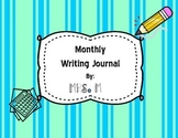 Monthly Writing Journal (Full Year)