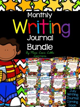 Monthly Writing Journal Growing Bundle