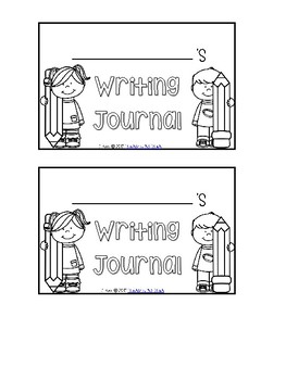 Monthly Writing Journal Tabs
