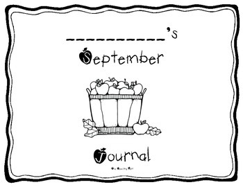 Monthly Writing Journal Templates