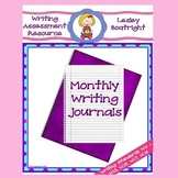 Monthly Writing Journal:  Writing Assessments
