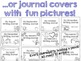Monthly Writing Journals!  18 paper options, 3 cover styles! Daily Journals!