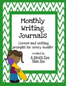 Monthly Writing Journals BUNDLE!