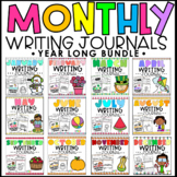 Monthly Writing Journals Year Long Bundle
