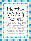 Monthly Writing Packets