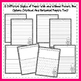 Monthly Writing Paper - Primary Writing Center - Seasonal Themes - 192 pages!