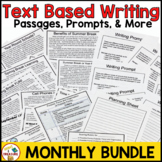 FSA Monthly Paired Passages for Reading Test Prep and Text Based Writing