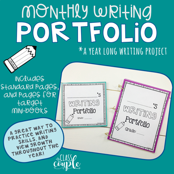 Monthly Writing Portfolio: A Year Long Writing Project with Target Mini Books