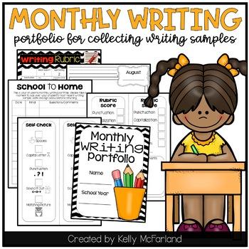 Monthly Writing Portfolio {K-1}