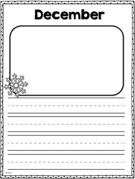 Monthly Writing Portfolio K-3
