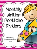 Monthly Writing Portfolio Page Dividers